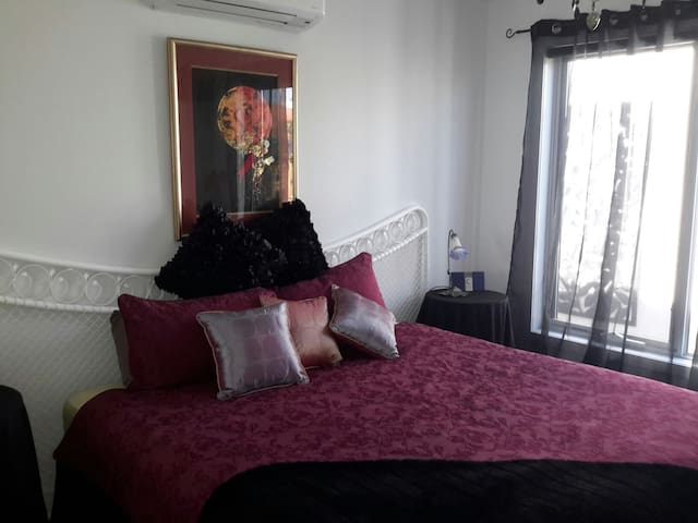 master bedroom ,sleeps 2 people