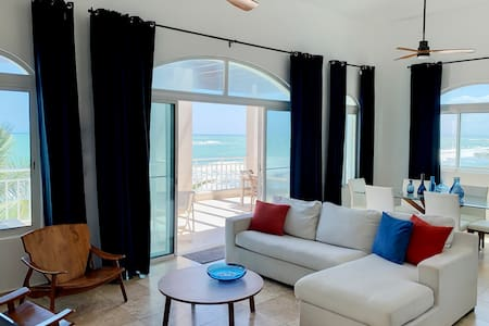 HGTV featured Beachfront Penthouse in Cabarete