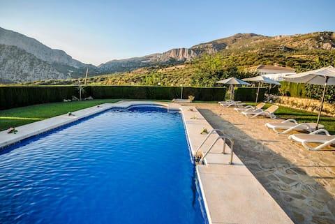 Cortijo Andaluz preciosas vistas