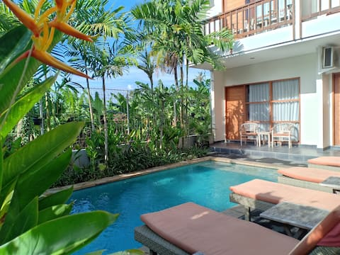 Abyan Guest House, Sanur, Beachside, Pool Access