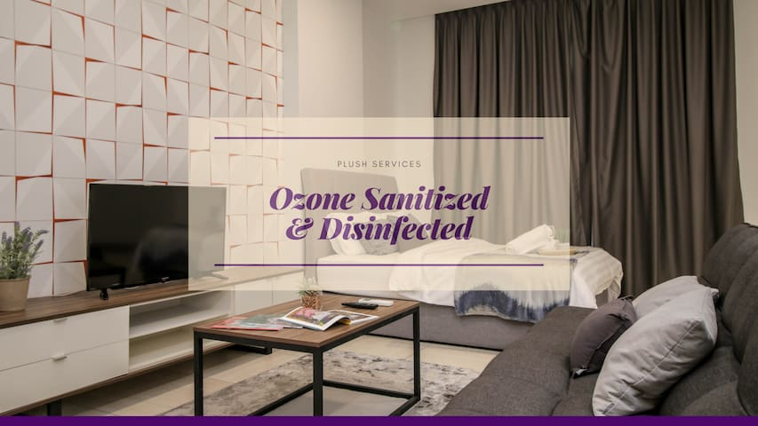 40% off rate,Octagon#2, 2BR Stay in heart of Ipoh!