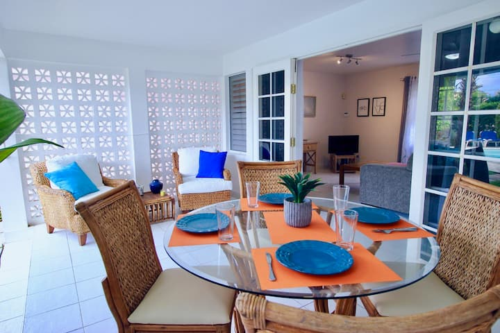Sea Suite at Amaryl Apts-Only 200 meters to Beach