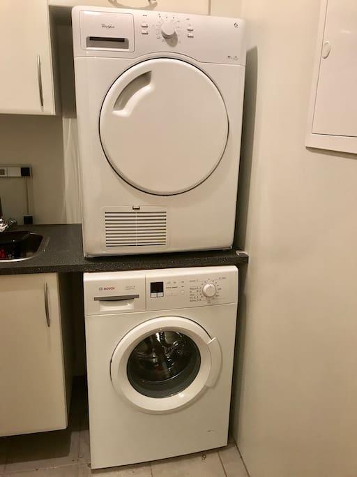washing/dryer machine.