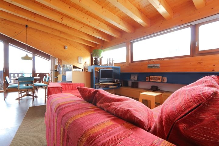 Beautiful spacious attic with breathtaking views