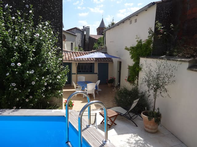 Charming house in hilltop village - Escueillens-et-Saint-Just-de-Bélengard - Huis