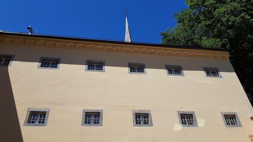 Das alte Gefängnis Braunau - Einzelzelle 2