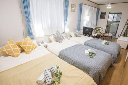 4Min to Shinjuku Cozy and Bright apartment TW39 - Huoneisto
