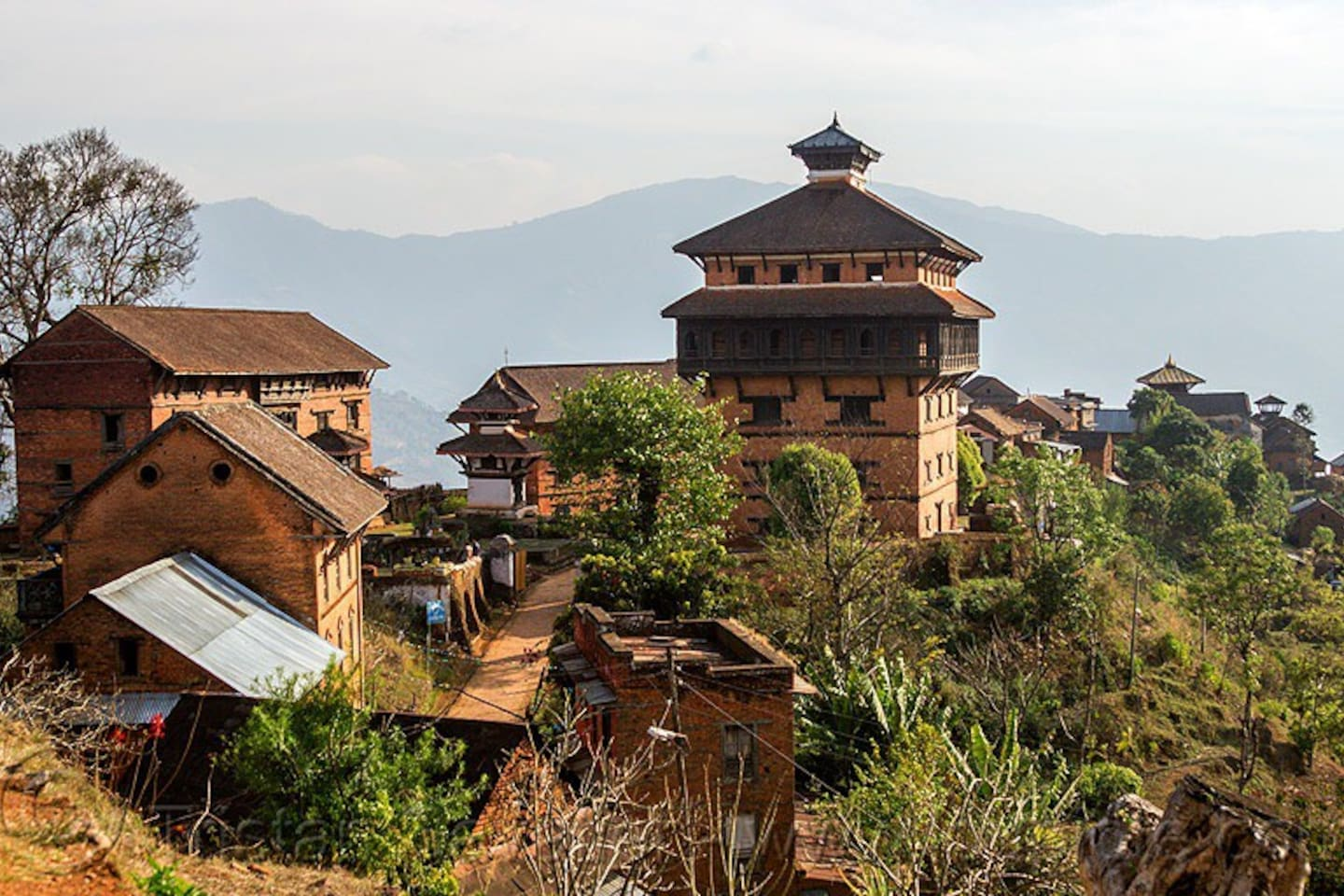 Very Famous Nuwakot palace and it's temple, Nuwakot is an ancient capital of Nepal. Its approximately 30 minutes ride.
