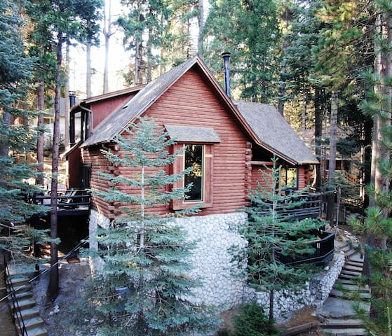 Renovated Log Cabin Apt near Lake Arrowhead