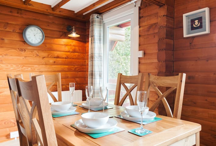 Lodge 59 Dining Area
