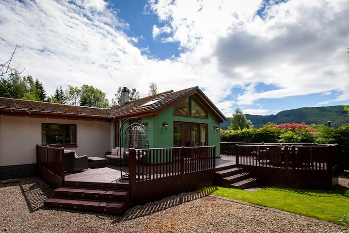 Fabulous house in central Pitlochry