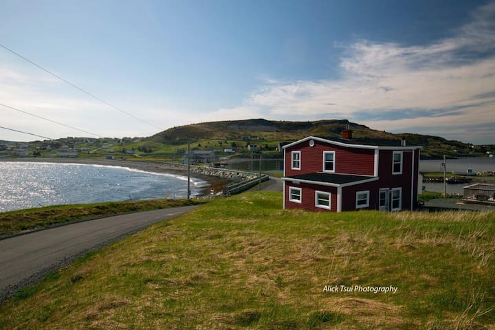 PRIVATE Gem In Ferryland – Lovely RED BEACH HOUSE