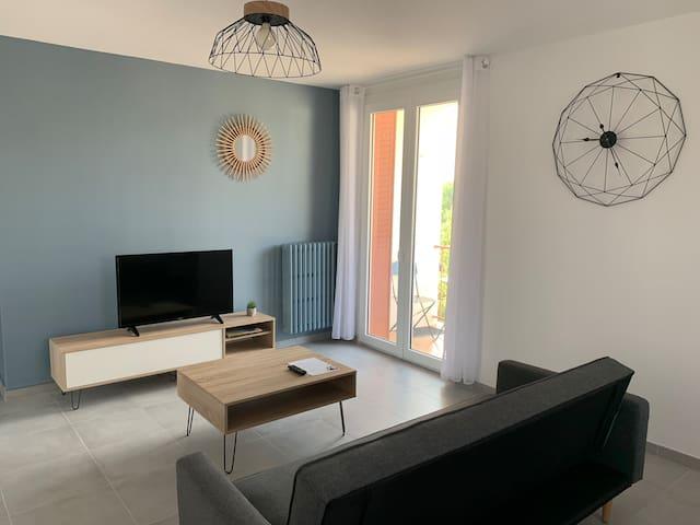 Appartement en ardèche refait à neuf 1 chambre