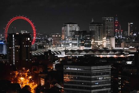 Luxury Studio Zone 1 & Lovely View of London Eye