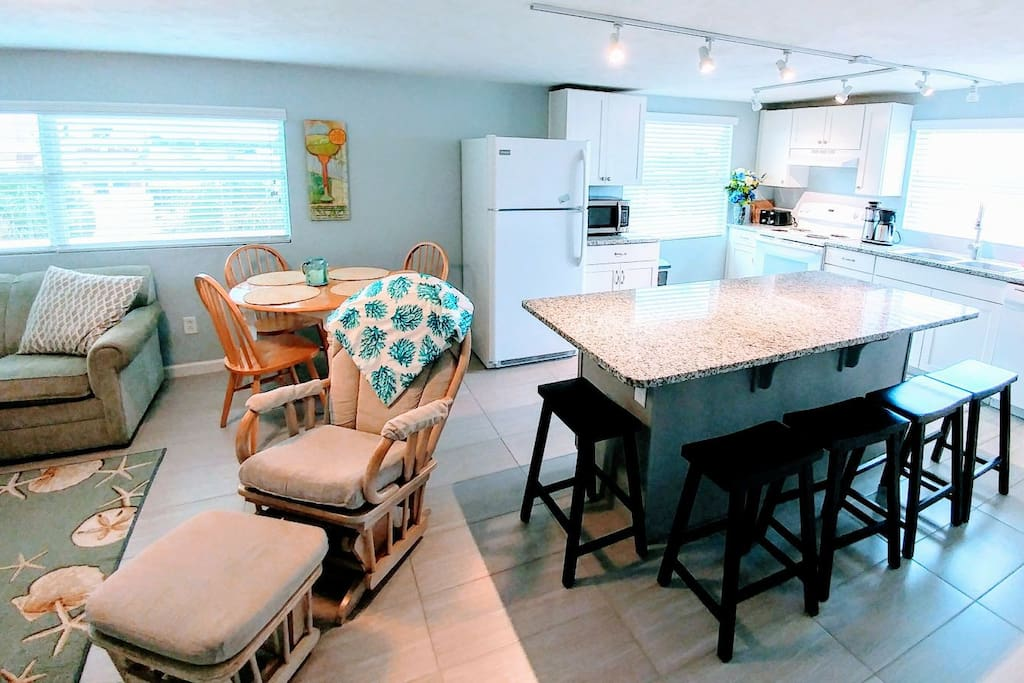 Fully remodeled kitchen with all new appliances