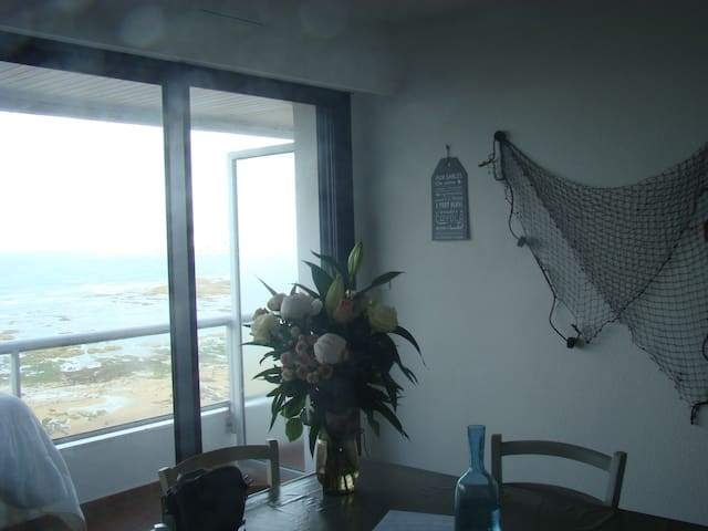 Charmant appartement en front de mer