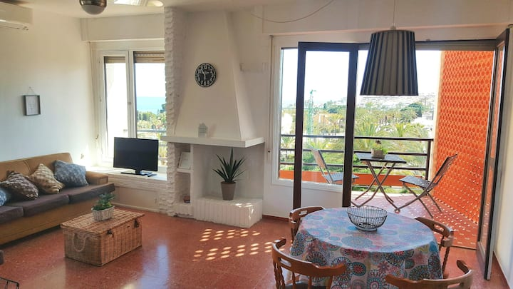 See view, 500m from the beach,Aircon,WIFI,terrace