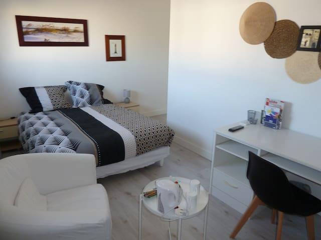 Notre chambre d'amis, maison neuve
