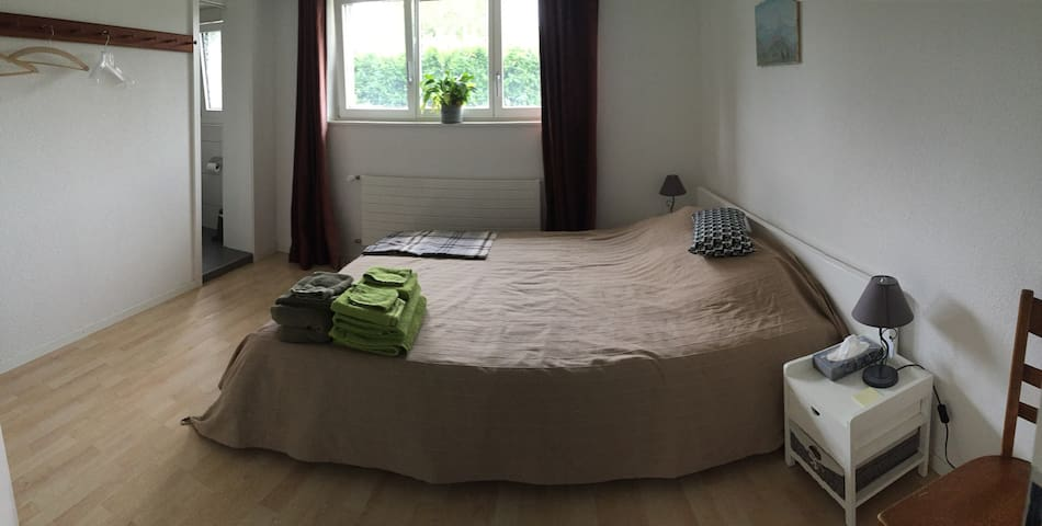 Nice room in a Swiss village - Cressier - Huis
