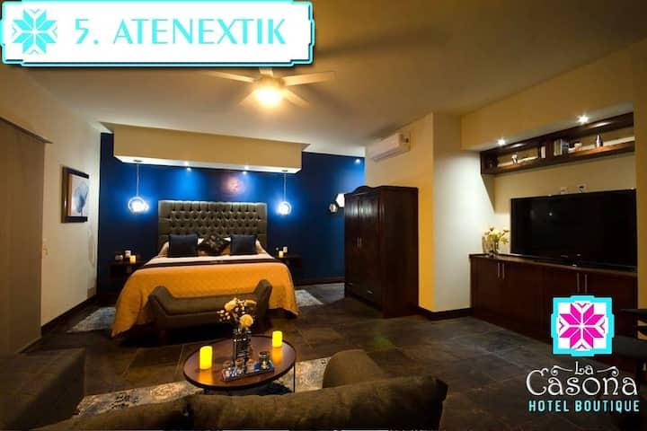 Hotel Boutique la casona cuarto 5 suite.