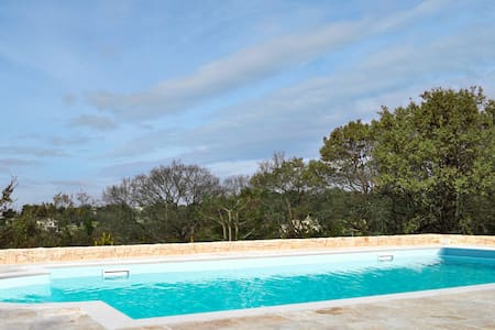 Panoramic room with private bath and swimming pool - Locorotondo BA - Bed & Breakfast