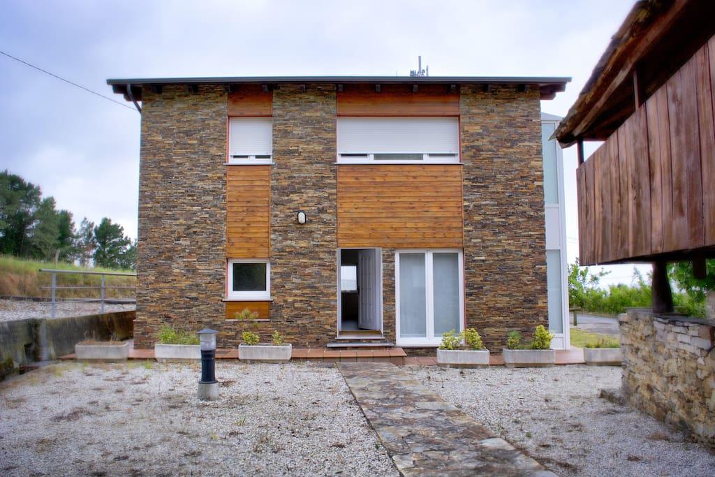 moderna casa en ambiente rural casas en alquiler en