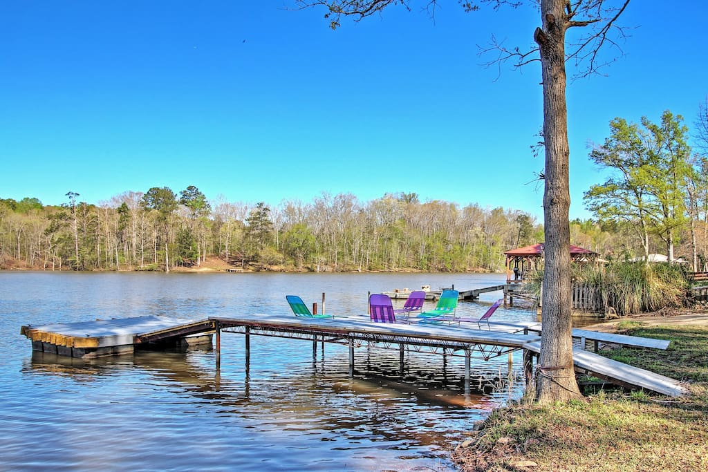 Enjoy the best of lakefront living when you stay at this wonderful Mansfield vacation rental home!