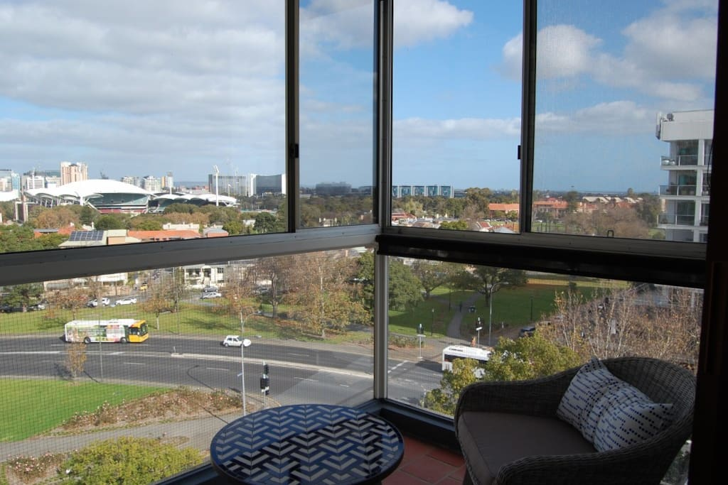 Front Enclosed Balcony with Spectacular View