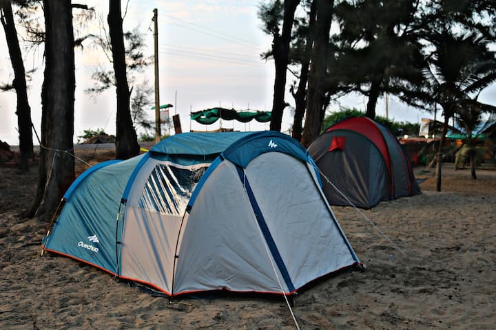 Athaang Beach Resort - Tents