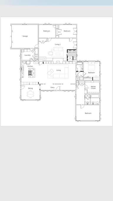 This is a thoughtfully laid out floor plan designed for a spacious feeling which you're sure to appreciate.