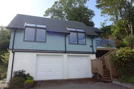 Carding Mill - 1 bed apartment with Oban Bay view - Oban - Leilighet