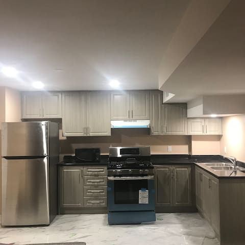 Brand new 2 br 2 wr basement apartment at Ajax