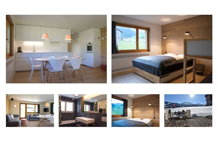 3 room garden apartment at ski run - Disentis/Mustér - Apartmen