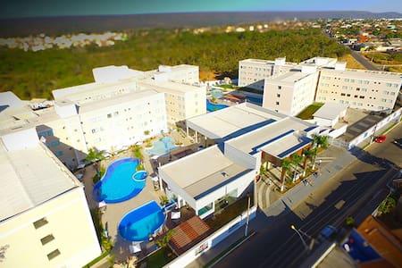 Apartamento Encontro das Águas thermas resort