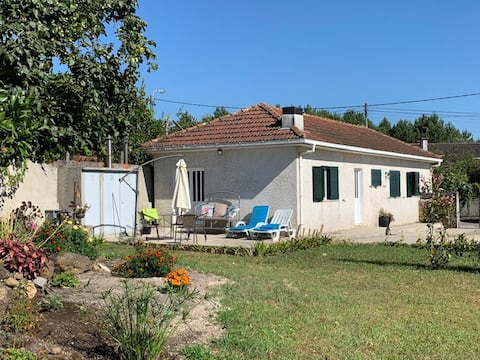 Typical House in a quiet village 3 km from the sea