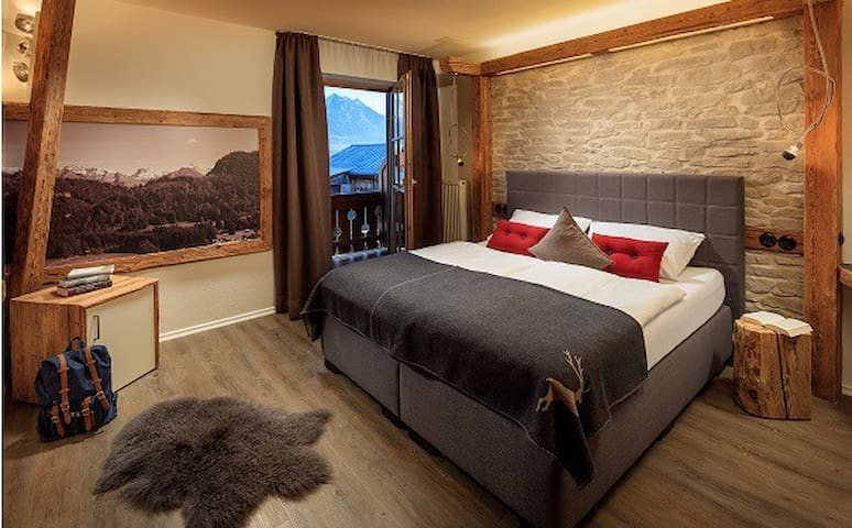 Landhaus Mucha / 2-Zimmer Deluxe-Wohnung - Bolsterlang