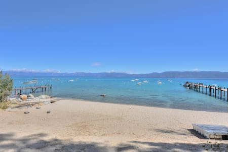 TAHOE WEST SHORE FRONTS WHITE SAND BEACH! DOG OK. - 塔霍玛 - 独立屋