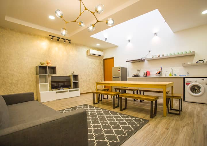 SKY RESIDENCE@天寓. KK City Centre,4BR, 4 Bath,Wifi