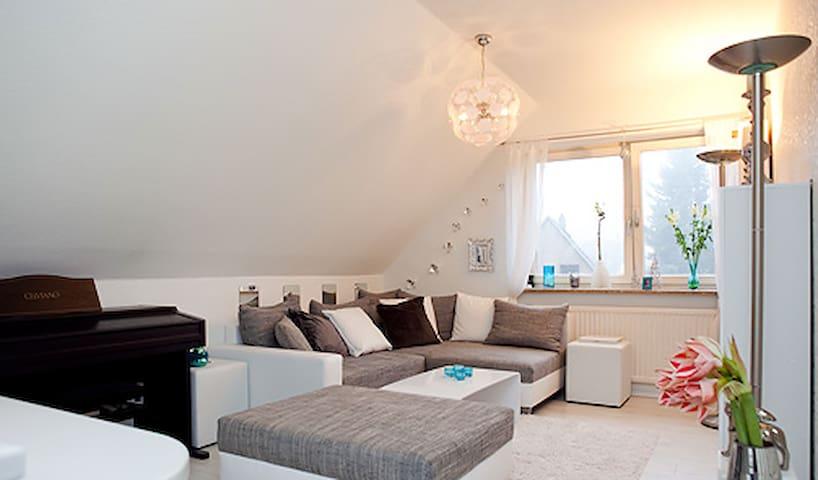 Charmante Wohnung in Flughafen-Nähe - Hamburg - Apartment