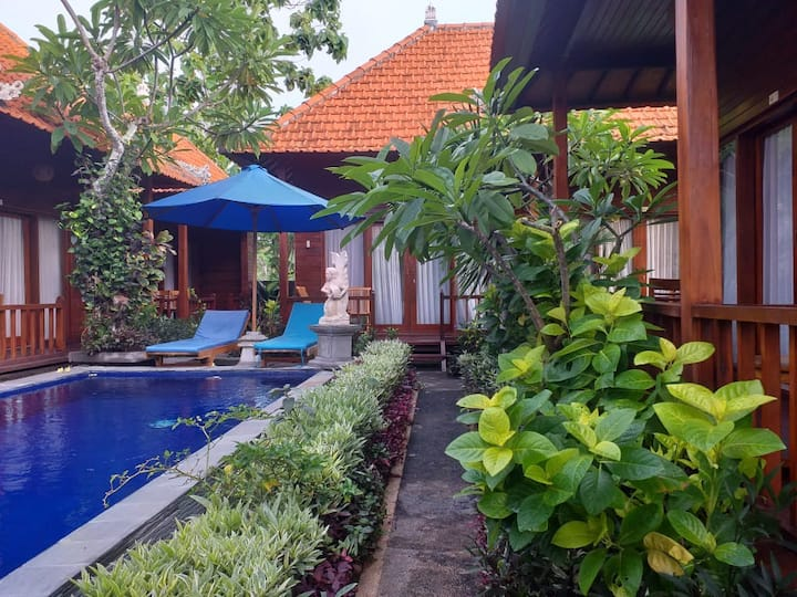 Wait Garden Cottage in Nusa Penida Island