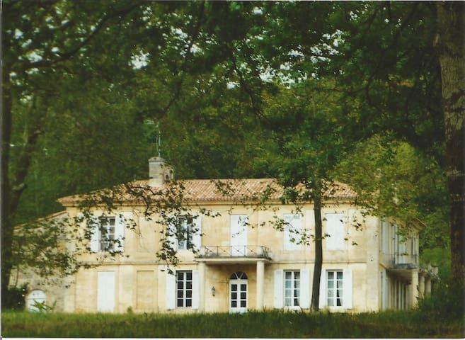 Chambres d'hôtes ou Château prox St Emilion