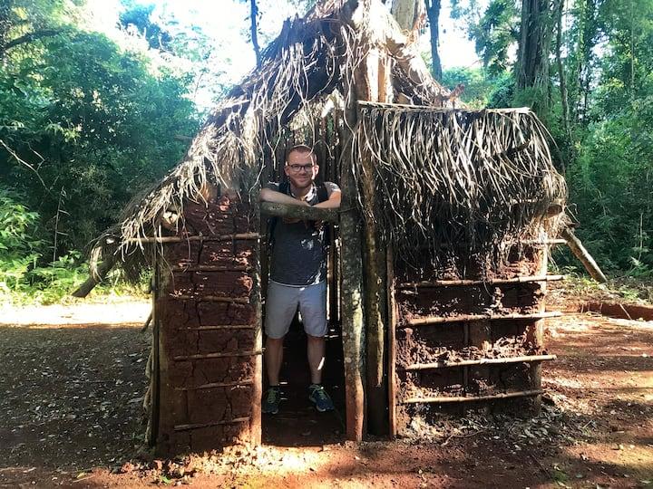 Guarani Typical house