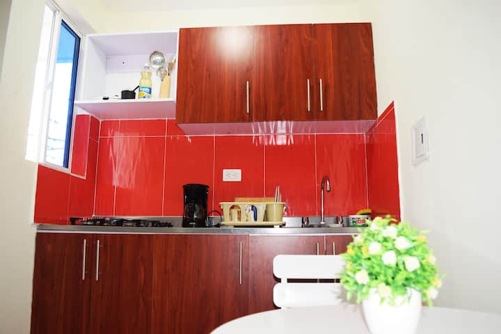 Private studio Near tourist area. AC-WIFI-KITCHEN
