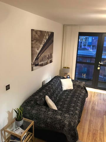 Modern City Centre Double Bedroom