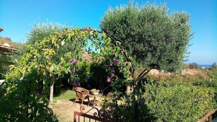 Villetta Elisa, Costa Rei holidays with sea view