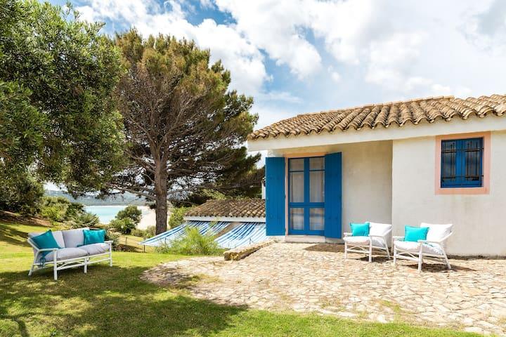 Mediterranean Paradise with Villa on the Beach