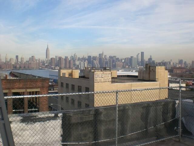 View to NYC Skyline