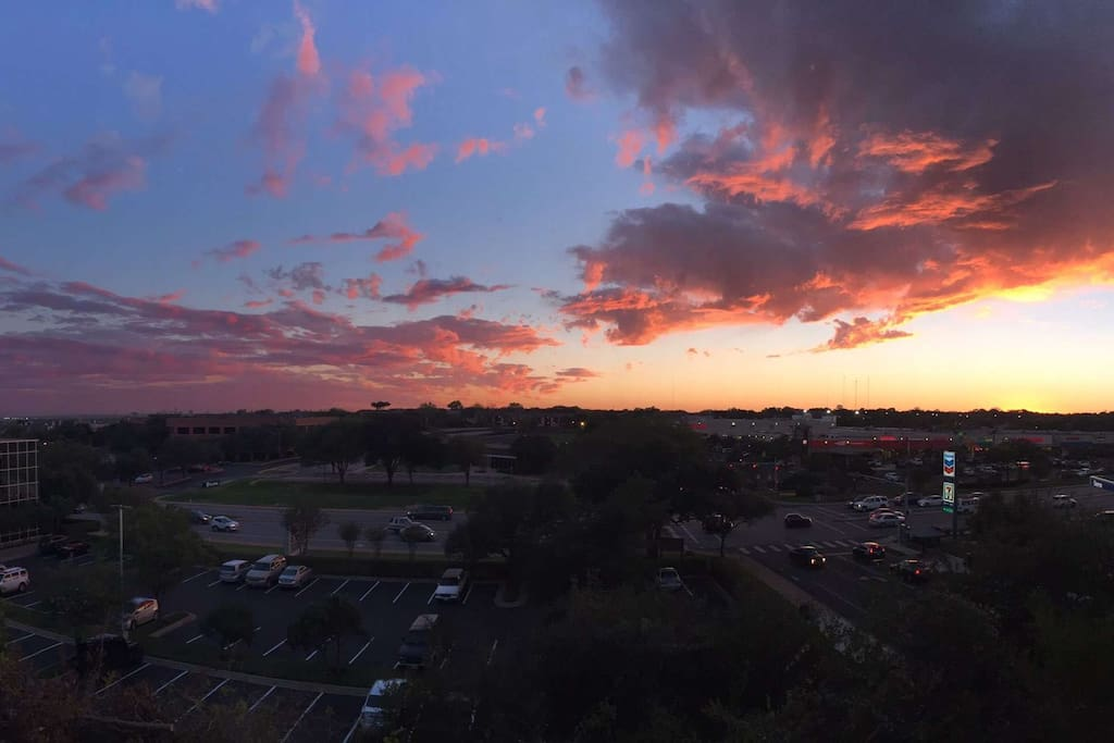 Sunset from my balcony