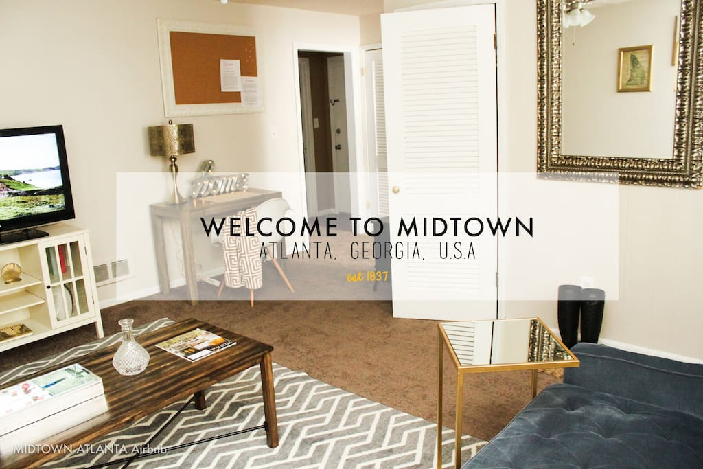Midtown atlanta airbnb w parking apartments for rent in 2 bedroom apartments in midtown atlanta