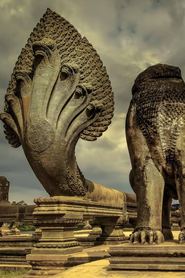 Naga of Angkor Wat